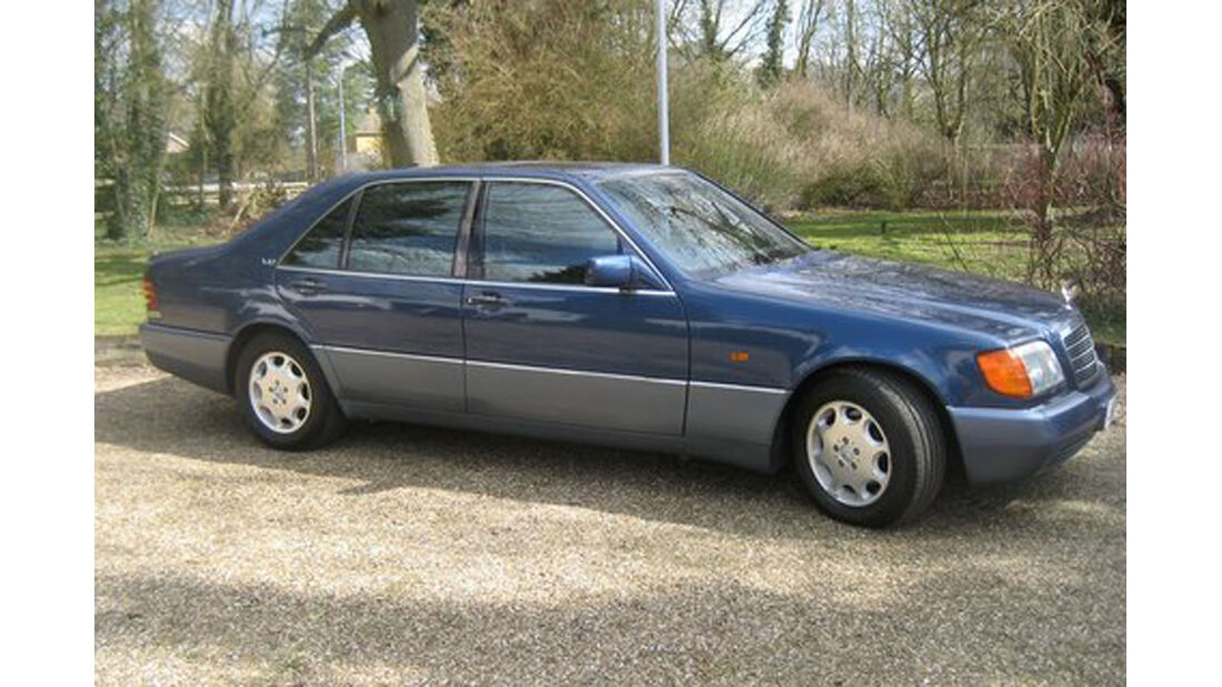 1992 Mercedes-Benz 600SEL.