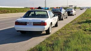1993 Ford Mustang SSP Nebraska Sate Patrol