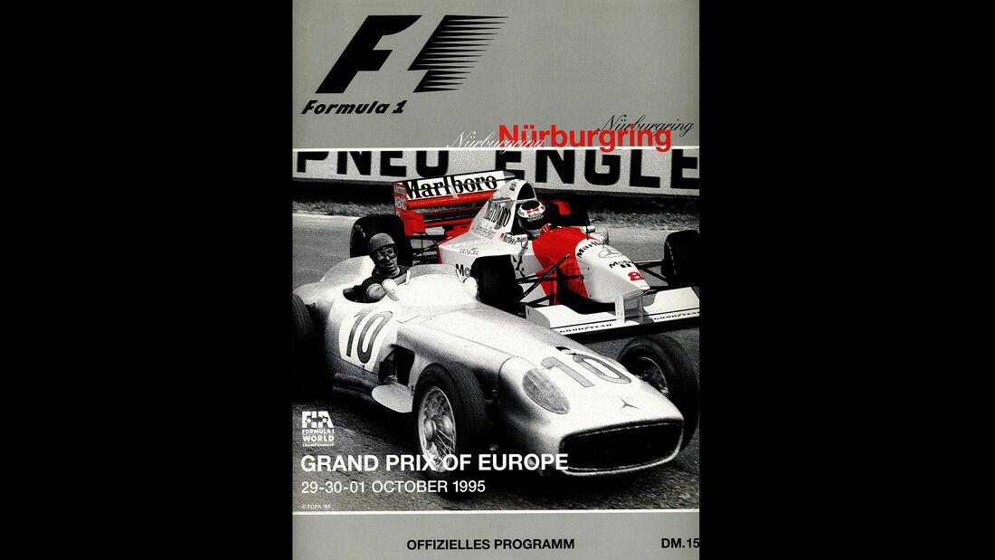 1995 - GP Europa - F1-Programm - Cover