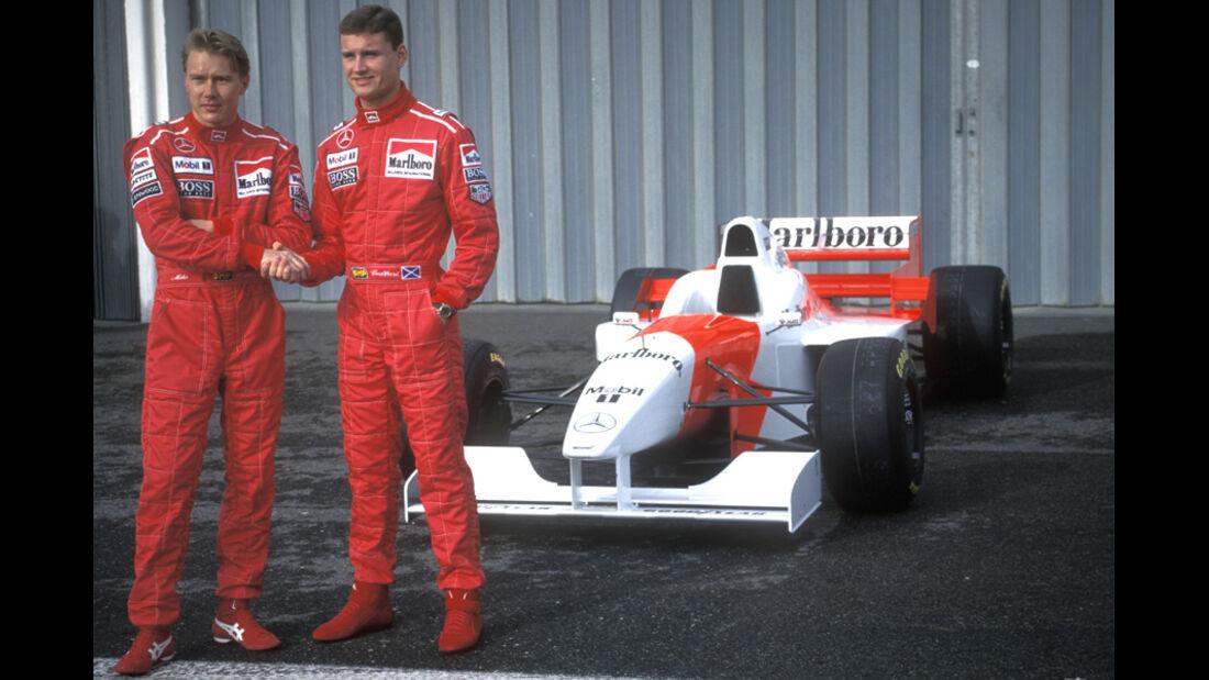 1996 David Coulthard McLaren Häkkinen