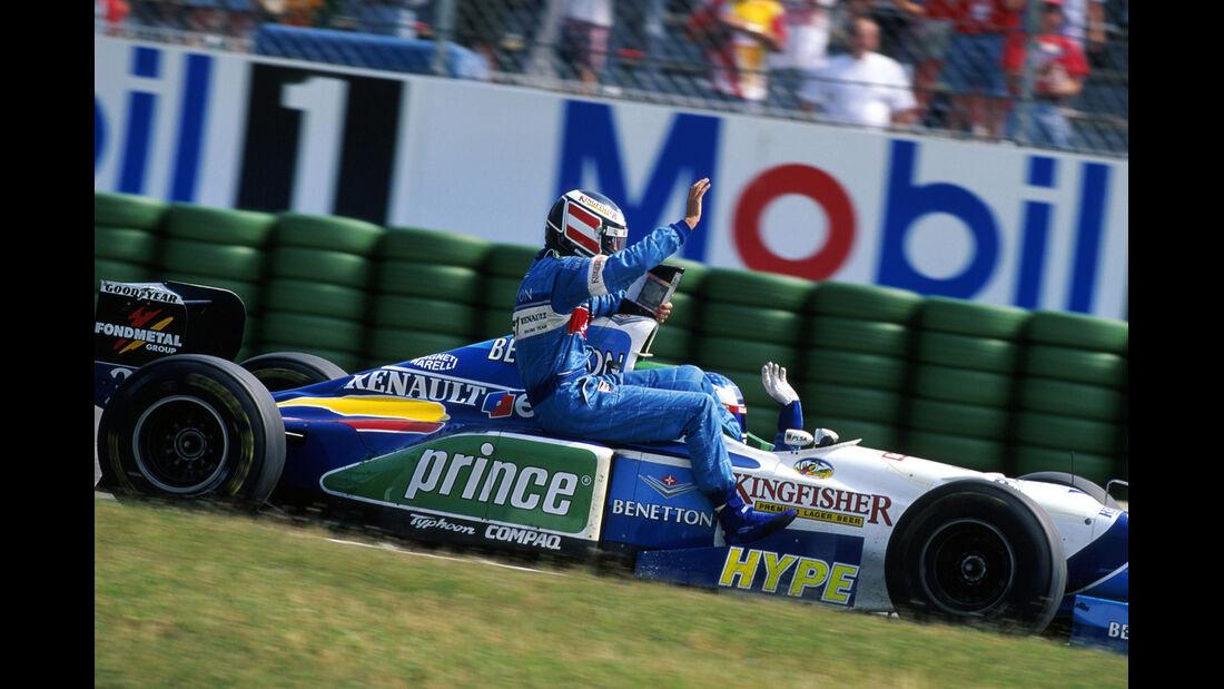 1996 Hockenheim Alesi Berger