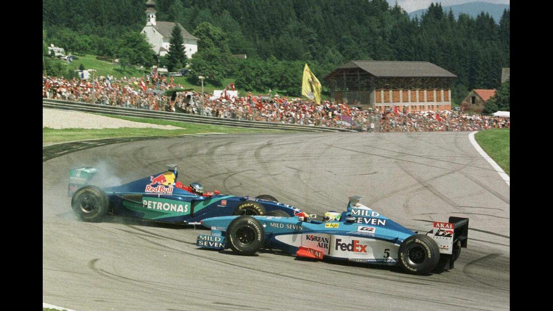 1998 Alesi Fisichella GP Österreich