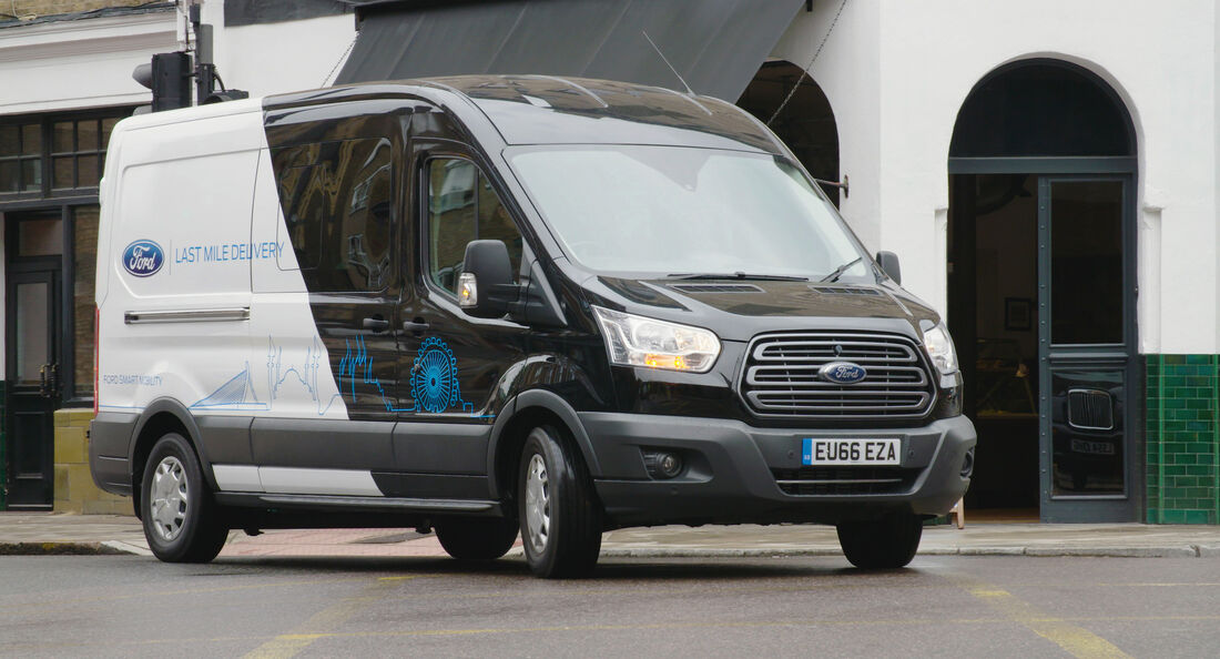 2/2019, Ford Last Mile Parcel Delivery