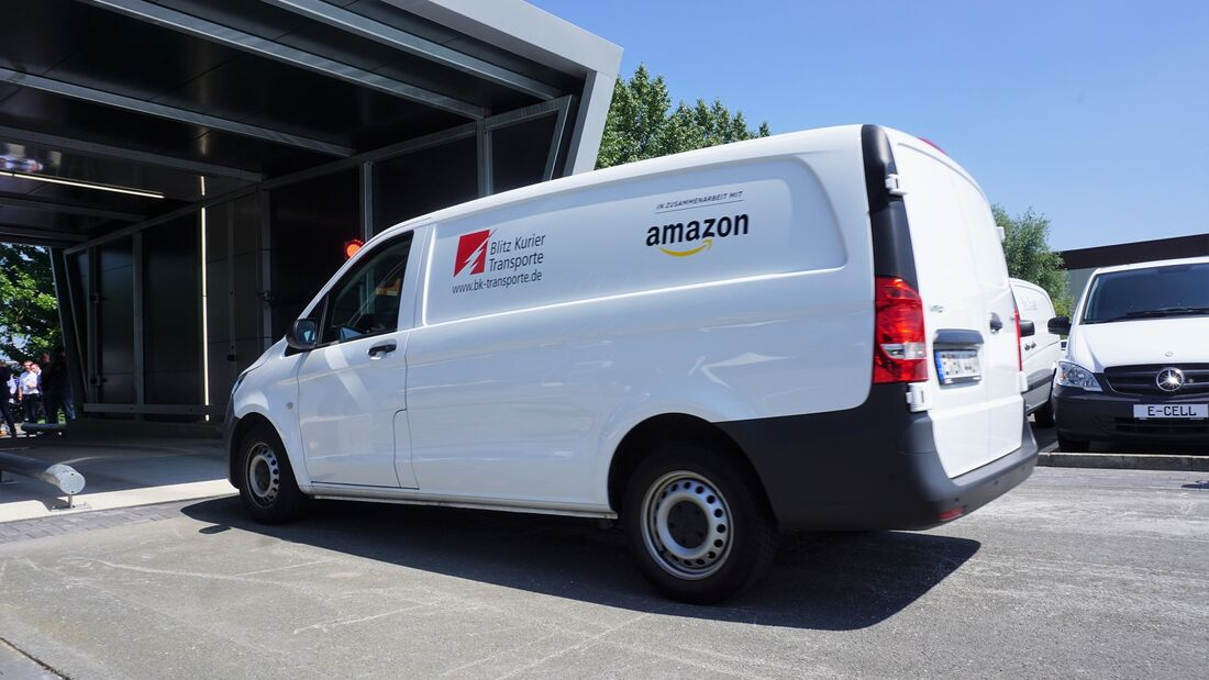 2/2019, Mercedes Vito Amazon