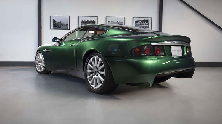 Aston Martin Project Vantage Messe Showcar Zu Verkaufen Auto Motor Und Sport