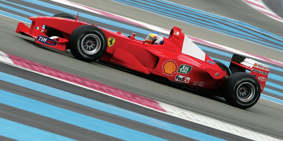 2000er Ferrari F1-2000