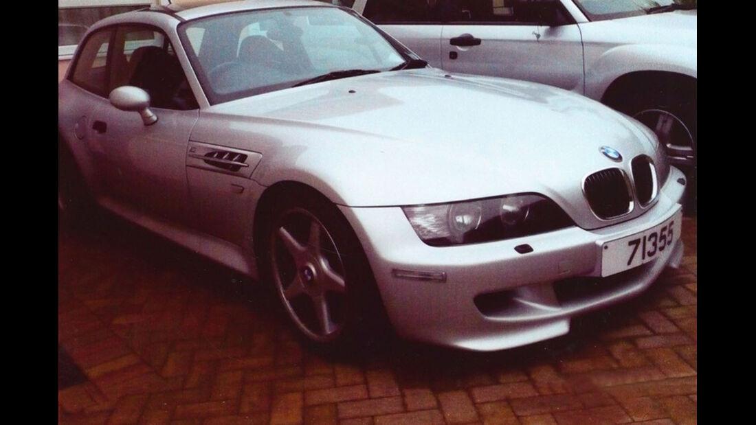 2001 BMW Z3 M Coupé.