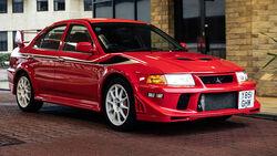 2001 Mitsubishi Lancer Evolution VI Tommi Mäkinen Edition