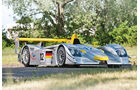 2001er Audi R8 Le Mans Prototype Racing Car
