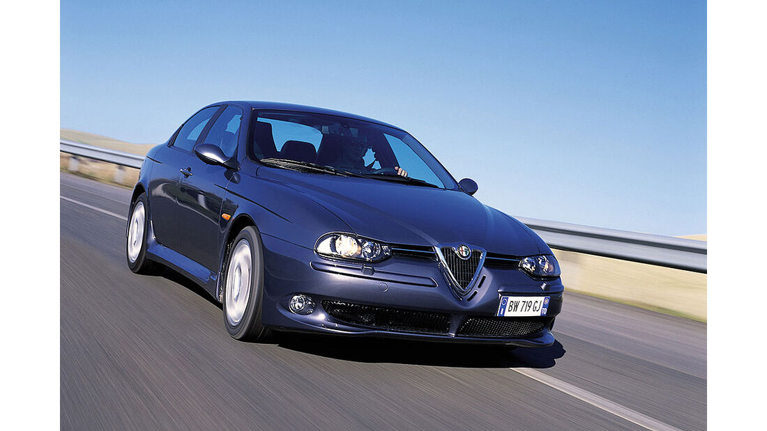 2002 Alfa Romeo 156 GTA