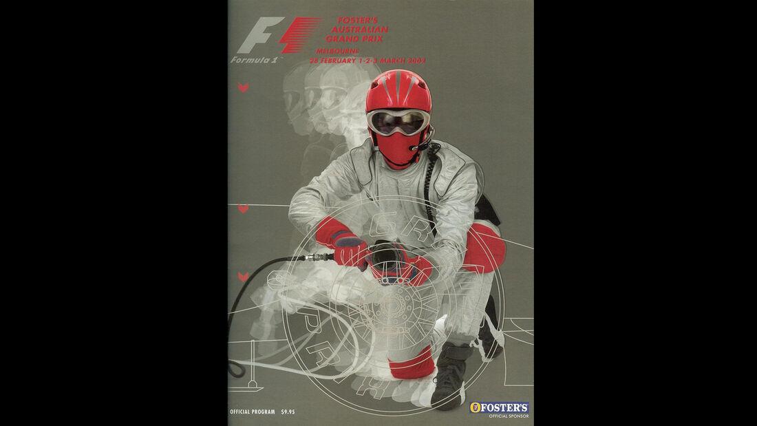 2002 - GP Australien - F1-Programm - Cover