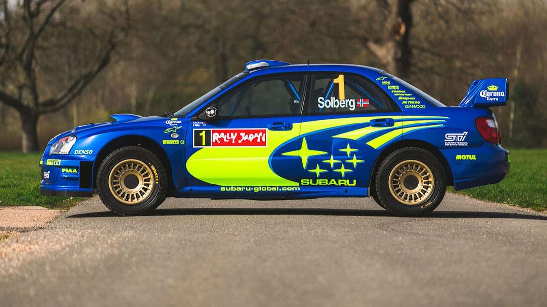 2004 Subaru Impreza S10 WRC Petter Solberg Verkauf