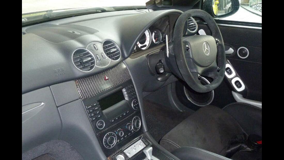 2005er Mercedes-Benz CLK Coupe 55