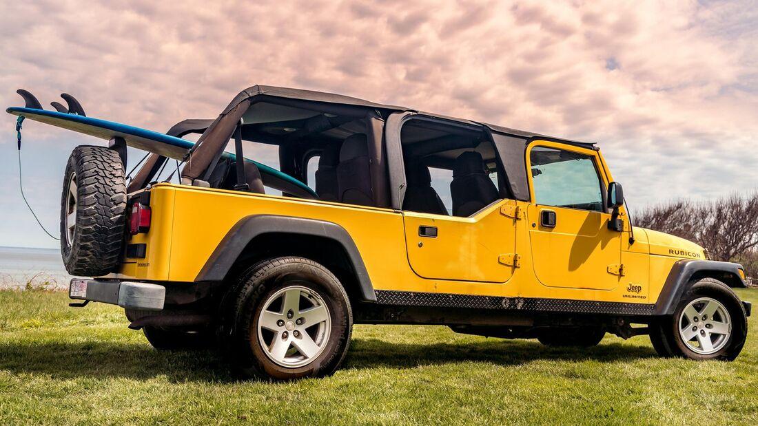 2006 Jeep Wrangler Rubicon 4x4 Long-Wheelbase 4-Door Conversion