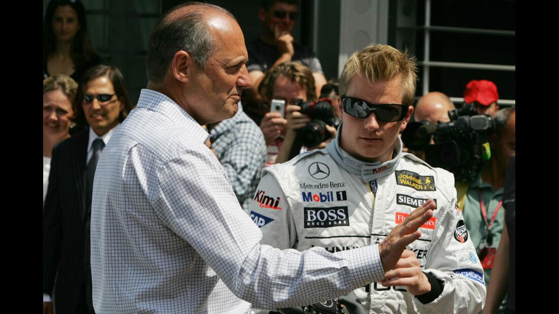 2006 Kimi Räikkönen McLaren Dennis