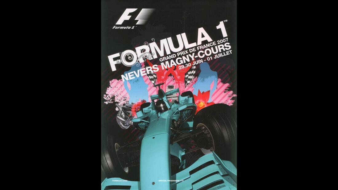 2007 - GP Frankreich - F1-Programm - Cover