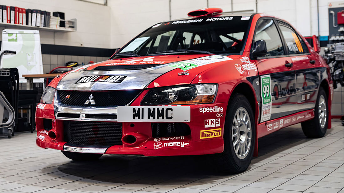 2007 Mitsubishi Lancer Evolution IX Gruppe N