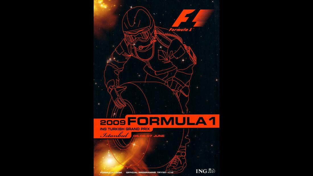 2009 - GP Türkei - F1-Programm - Cover