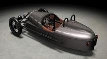 201 1 Morgan Threewheeler - Innenraum