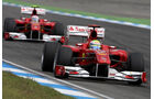 2010 Massa Alonso GP Deutschland