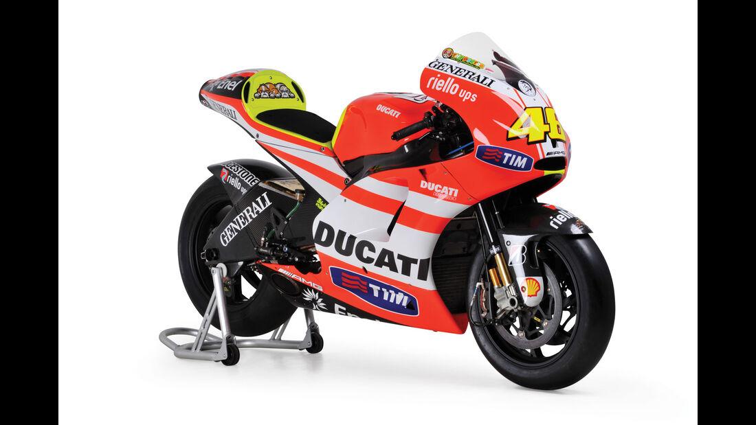 2011 Ducati Desmosedici GP11 VR2 RM Auctions Monaco 2012