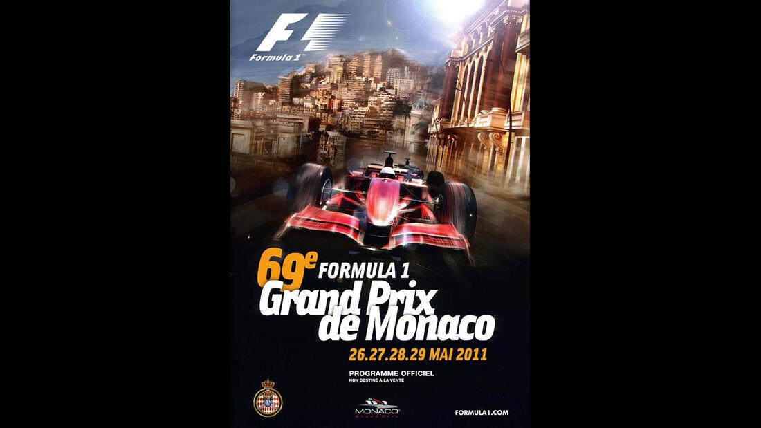 2011 - GP Monaco - F1-Programm - Cover
