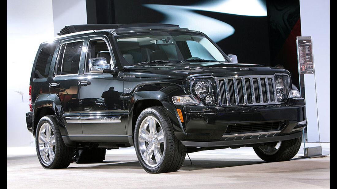 2011 Jeep Liberty Jet LA Auto Show World Debut