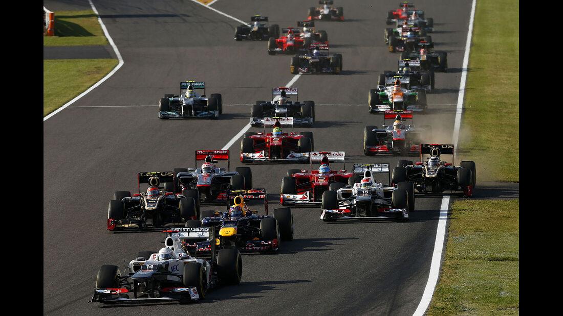 2012 GP japan Suzuka Start