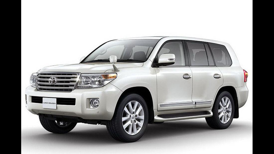2012 Toyota Land Cruiser 200 V8