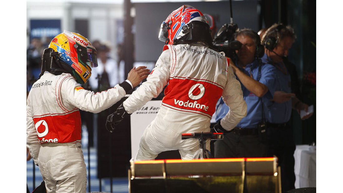 2012 mclaren Jenson Button Lewis hamilton