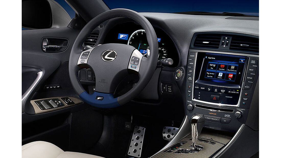 2014 Lexus IS F, Cockpit