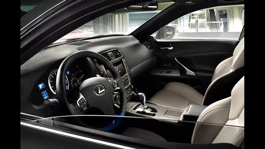 2014 Lexus IS F, Innenraum vorn