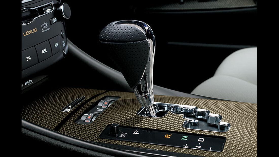 2014 Lexus IS F, Wählhebel
