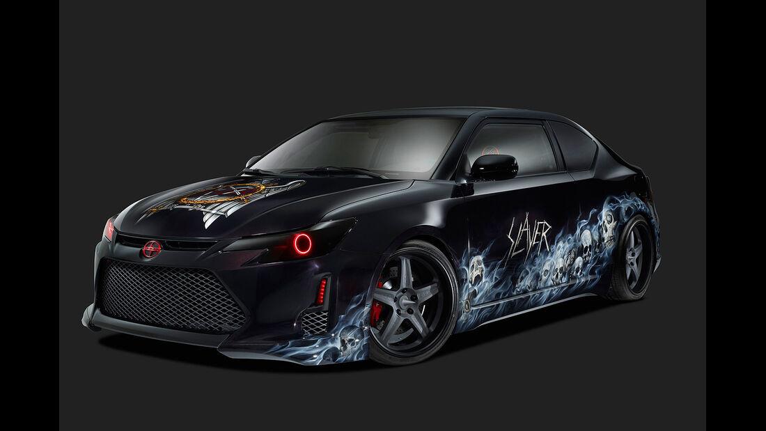 2014 SEMA - Scion x Slayer Mobile Amp tC