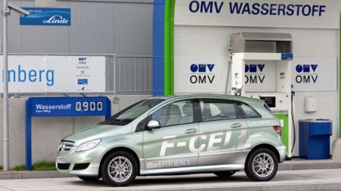 2015 kommt das Wasserstoffauto