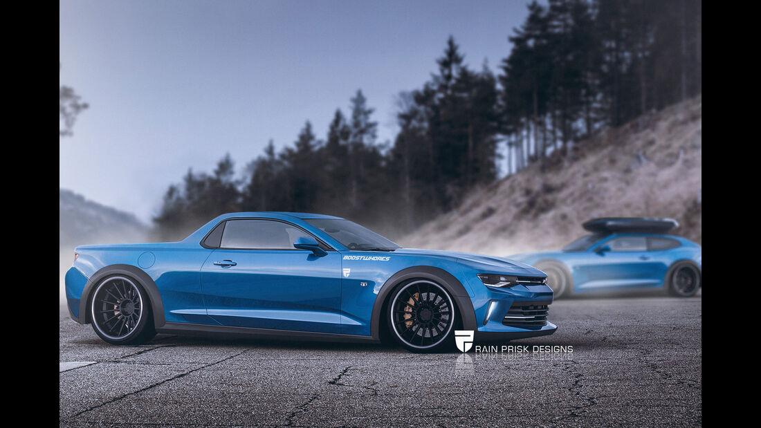 2016 Chevrolet El Camino Concept - Fantasie-Auto