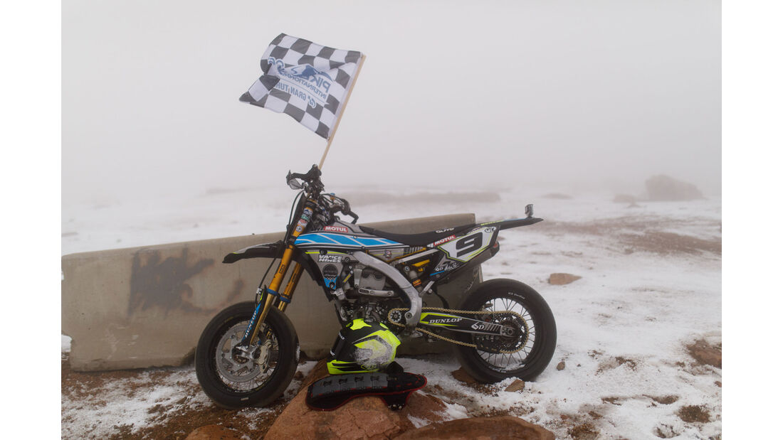 2016 Yamaha YZ450F - Impressionen - Pikes Peak 2018 - Bergrennen
