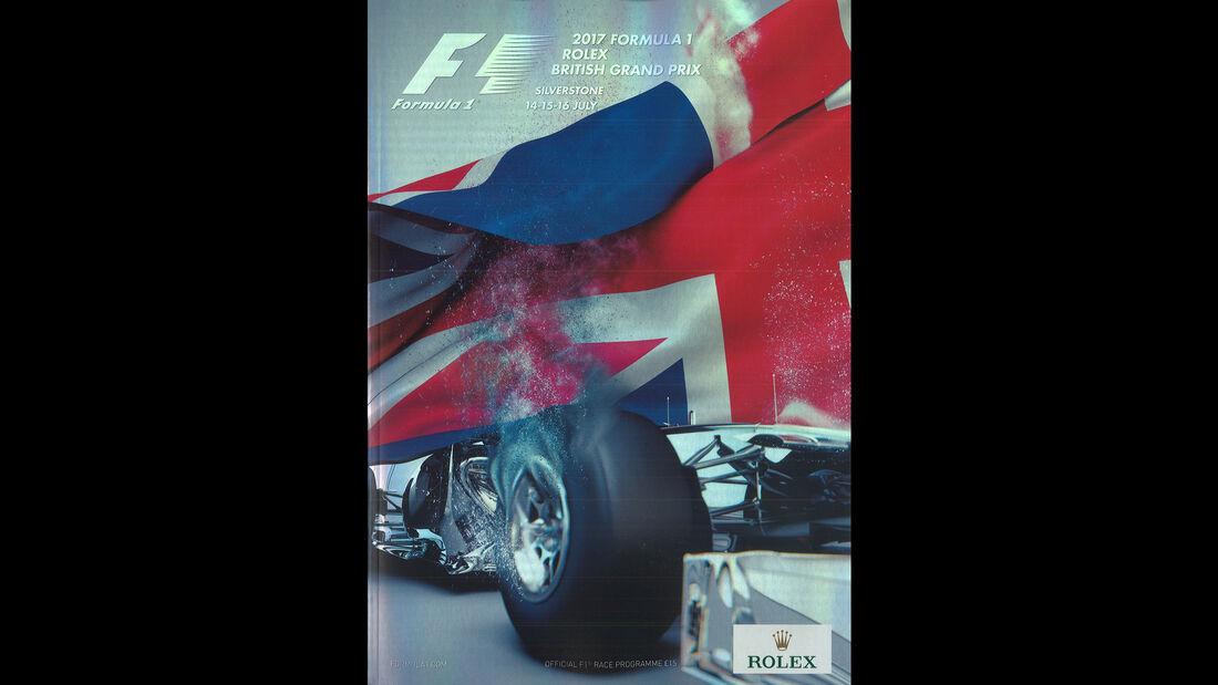 2017 - GP England - F1-Programm - Cover
