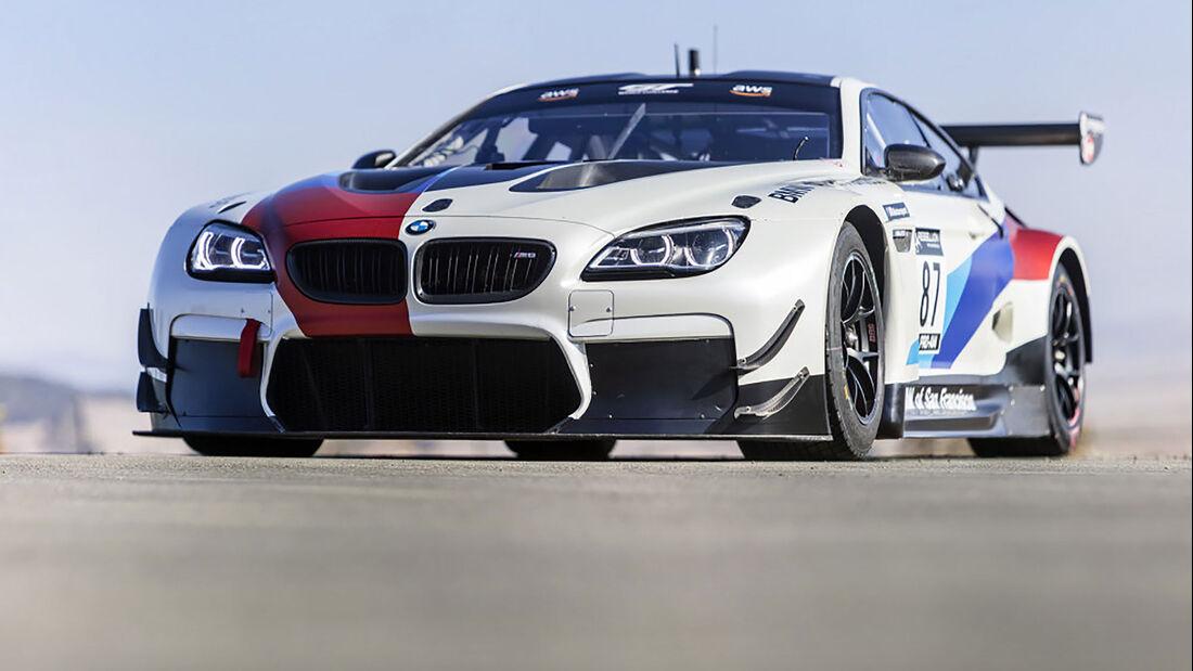 2018 BMW M6 GT3 Race Car