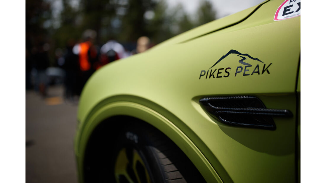 2018 Bentley Bentayga - Impressionen - Pikes Peak 2018 - Bergrennen