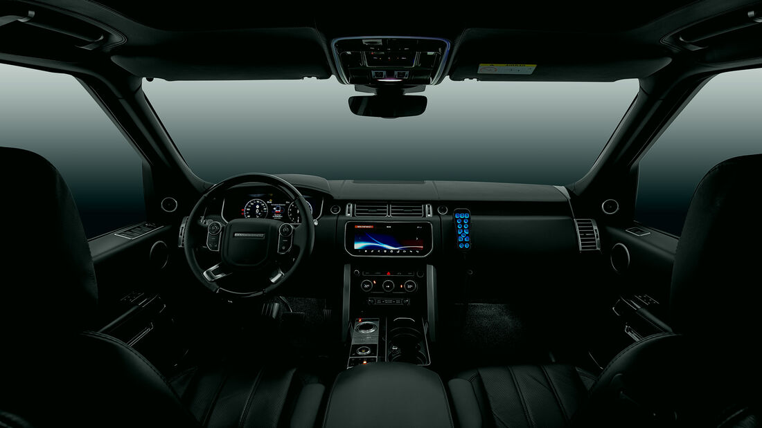 2018 Klassen Range Rover +1016mm Armored LRR_1366