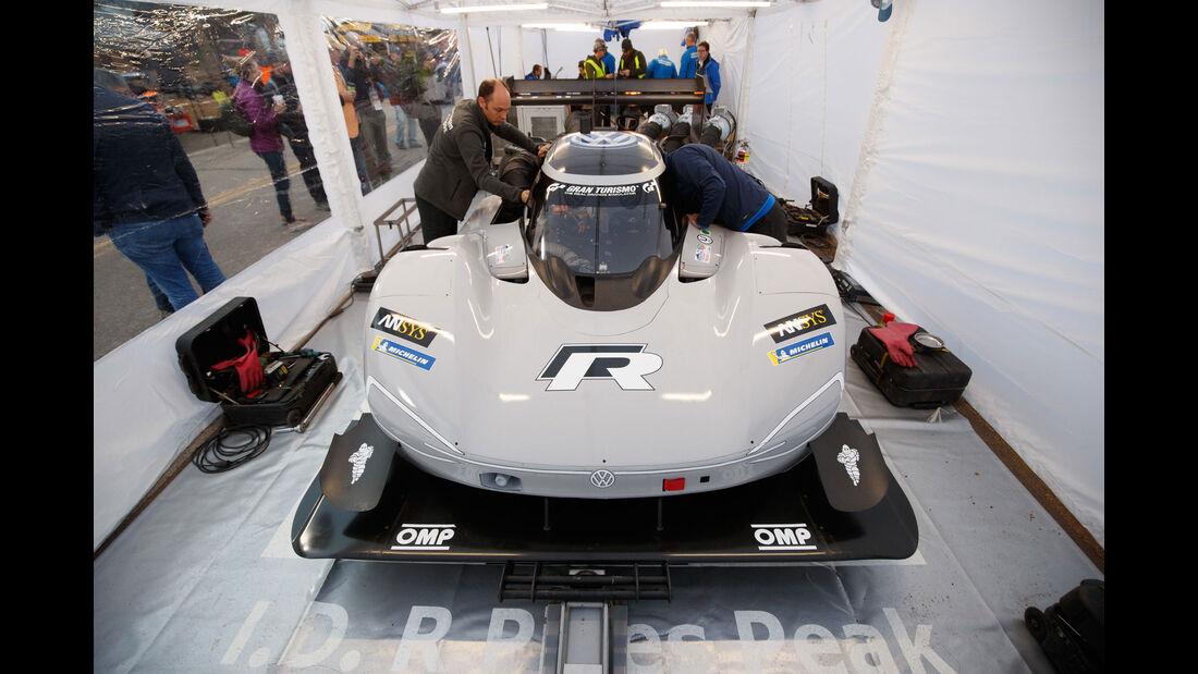 2018 VW I.D R - Impressionen - Pikes Peak 2018 - Bergrennen