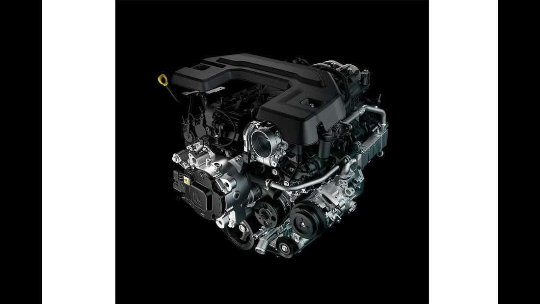 2019 Ram 1500 3.6-liter V-6 with eTorque