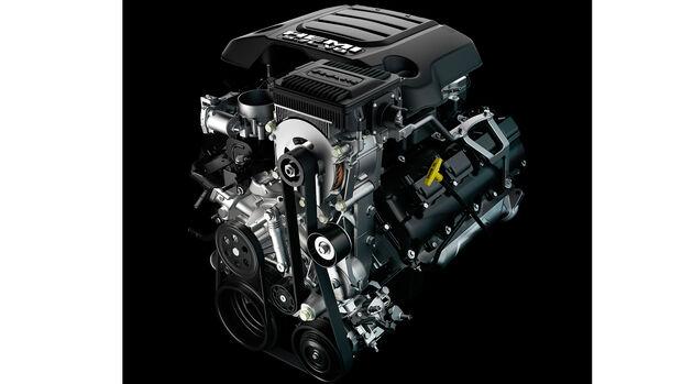 2019 Ram 1500 5.7-liter V-8 with eTorque
