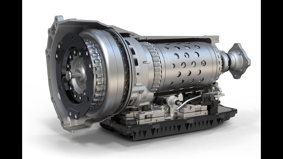 2019 Ram 1500 TorqueFlight eight-speed transmission