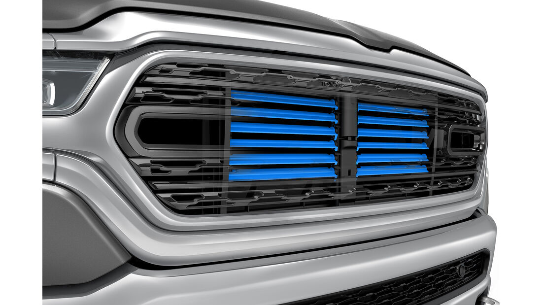 2019 Ram 1500 active grille shutters