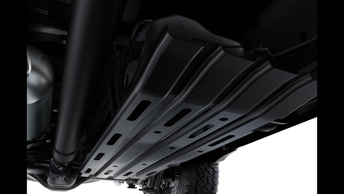 2019 Ram 1500 fuel tank skid plate