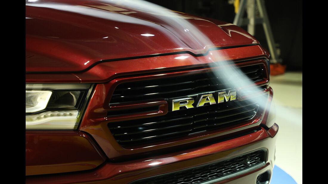 2019 Ram 1500 – wind tunnel profile