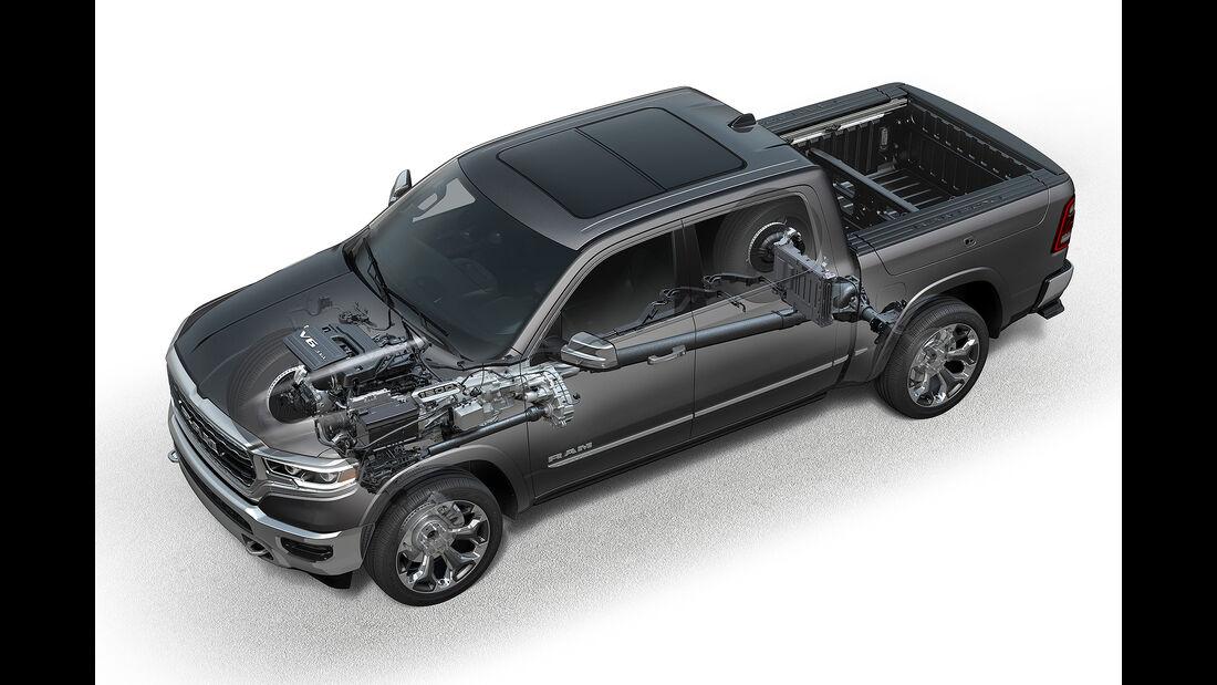 2019 Ram 1500 with 3.6-liter eTorque powertrain