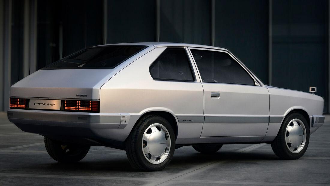 2021 Hyundai Pony Heritage Design Concept Ioniq 5